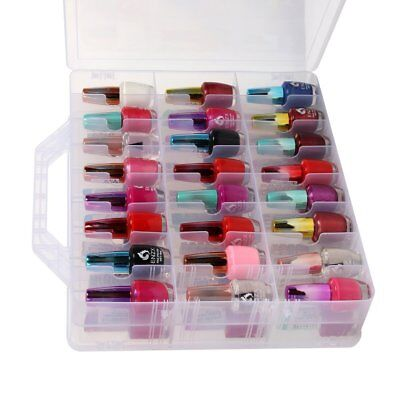 Universal Nail Polish Holder Organizer Display Container Case Storage 48 Bottles