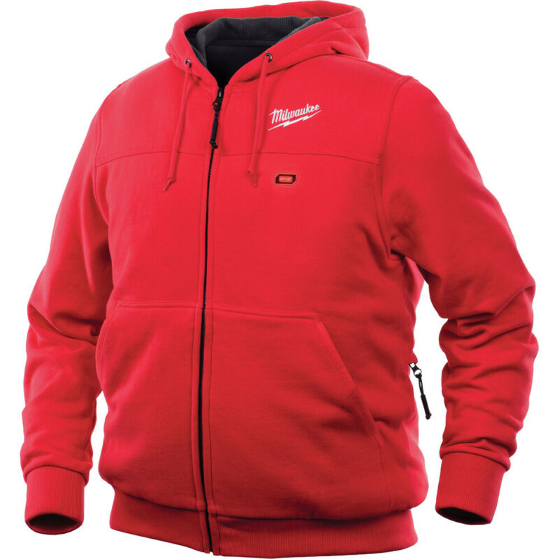 Milwaukee 302R-20XL M12 Heated Hoodie (X-Large/Red) (Jacket Only) New
