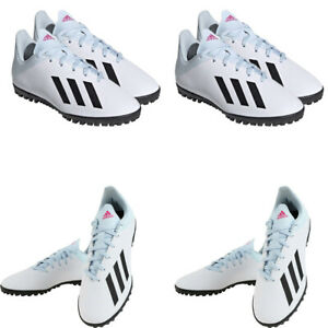 Adidas Kids Boys Football Boots Trainers X19.4 TF Astro Turf Soccer Shoes Size