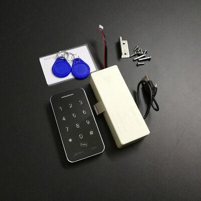 RFID Touch Keypad Password Card Key Digital Electronic Cabinet Closet lock