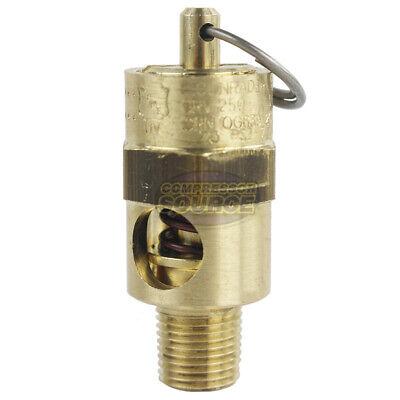 18 Inch Npt 75 Psi Air Compressor Safety Relief Pressure Valve Tank Pop Off