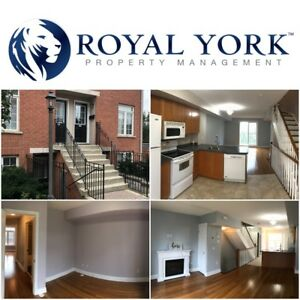 2 BED/2 BATH-SPACIOUS TOWNHOUSE FOR RENT @ TORONTO | JANE AND EG