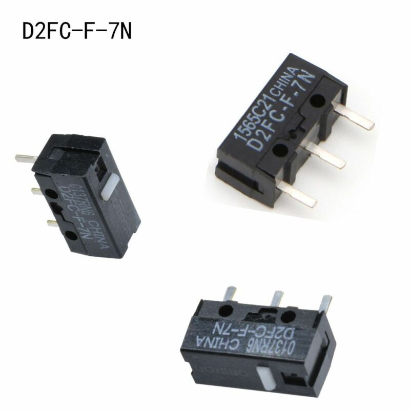 10pcs 12.8*5.8*6.5mm Mouse Microswitch Pushbutton Switches