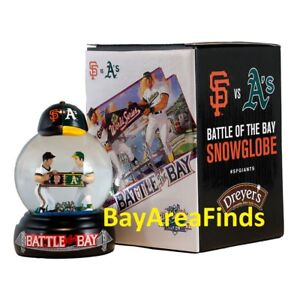 San Francisco Giants Battle of the Bay Snowglobe 7/15/2018 SGA Oakland A's