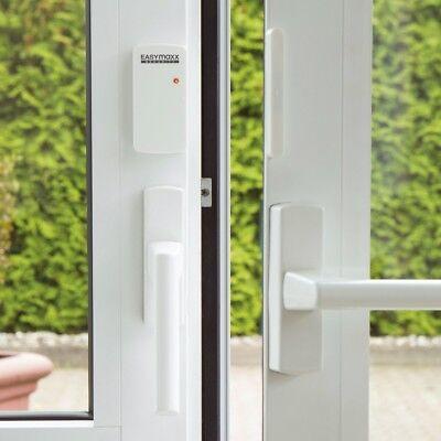 EASYmaxx Security Alarmanlage für Türen & Fenster mit Fernbedienung Fensteralarm