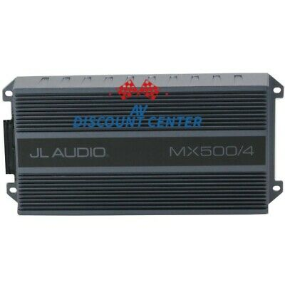 JL AUDIO MX500 / 4 4-CHANNEL 500W RMS COMPACT MARINE BOAT ATV ​​MOTORCYCLE AMP NEW