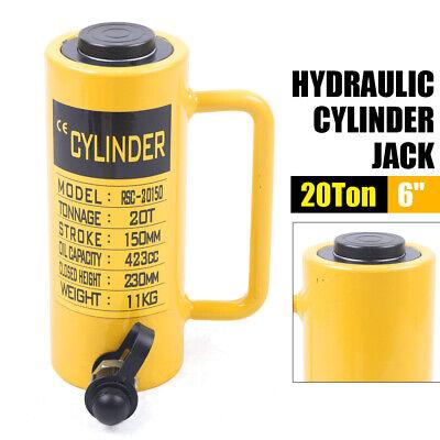 20 Ton 6 Hydraulic Cylinder Jack 150mm Stroke Single Acting 10000psi Jack Ram