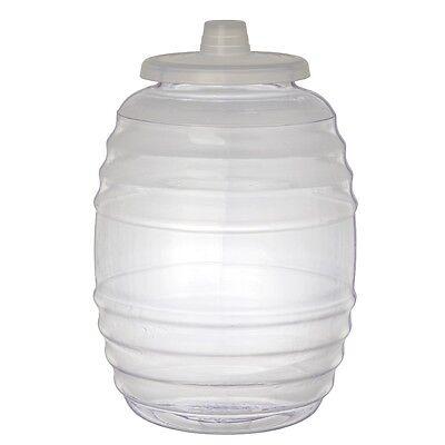 3 Gallon Heavy Duty Ice Bucket Water Barrel Bottle Jug Big Opening Vitrolero Lid](Big Ice Bucket)