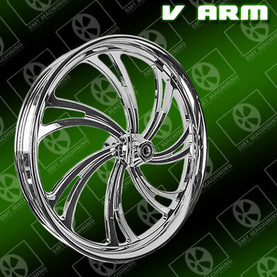 "26"" inch custom motorcycle wheel VICTORY cross country vision magnum"