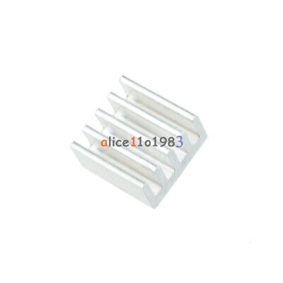 20pcs Aluminum 8.8x8.8x5mm Heat Sink For Stepstick A4988 Chip Ic Led Power Ic