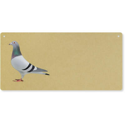 'Pigeon' Large Wooden Wall Plaque / Door Sign (DP00039677)