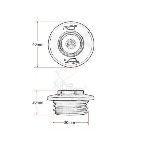 Engine Oil Drain Plug Nut Bolt Screws Filter Cap for KTM