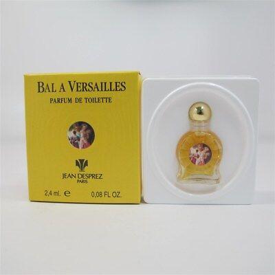 Bal a Versailles by Jean Desprez 2.4 ml/ 0.08 oz Parfum de Toilette Mini NIB Jean Desprez Parfum
