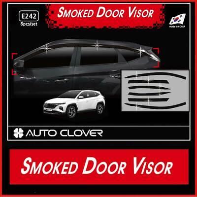 Smoke Window Sun Visor Vent 6p for 2022 2023 Hyundai Tucson NX4