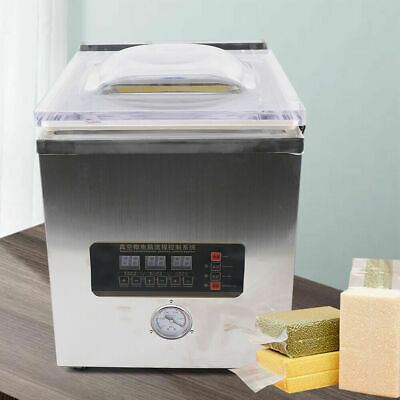 2l Digital Vacuum Packing Sealing Machine Sealer Packaging Industrial Chamber Us