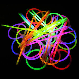15-GLOW-IN-THE-DARK-GLO-GLOW-STICK-BRACELETS-PARTY-RAVE-BRIGHT-LIGHT-UP-FUN