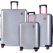 T.P.R.C. Beijing 3pc Expandable Hardside Spinner Luggage Set NEW