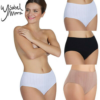 1 or 6 Pack Women's Plus Size Cotton High-Rise Brief Panties Underwear 3 (High Rise Brief)