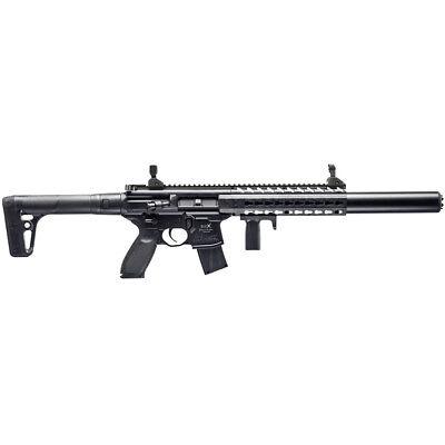 Sig Sauer MCX ASP Air Rifle .177 Pellet 700FPS, Black - AIR-MCX-177-88G-30-BLK