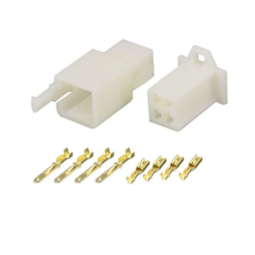 2.8MM 4 PIN WAY AUTOMOTIVE ELECTRICAL WIRE CONNECTOR MALE  AND FEMALE CABLE