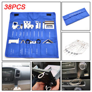 38 Pcs Car Stereo Release Removal Keys Set Vehicle CD Radio Head Unit Tools