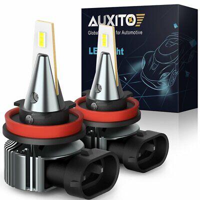 2x AUXITO H8 H11 Error Free LED FOG Light Bulb Conversion Kit 6000K CANBUS NEW