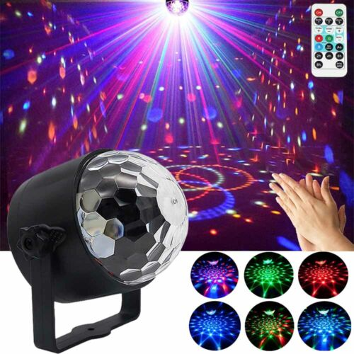 Disco Ball Party Lights LED Strobe DJ Sound Activated Bulb S