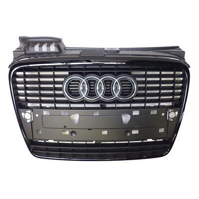 Audi A4 8E B7 Kühlergrill schwarz glänzend Grill Schwarz Paket Frontgrill