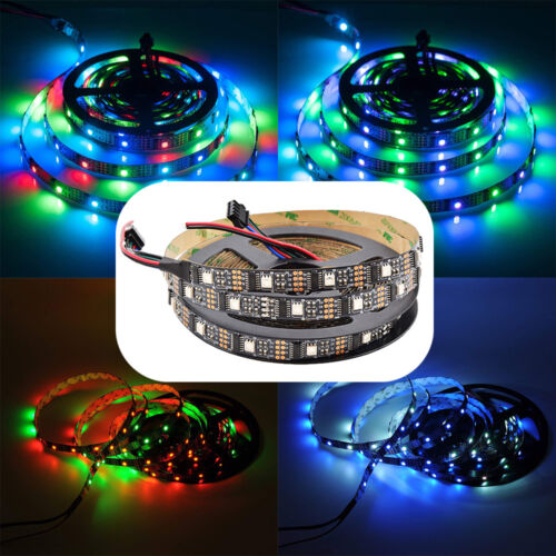 3m 4m 5m WS2801 RGB LED Streifen Strip Band Leiste  Ambi Ambient TV Raspberry Pi
