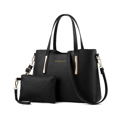 2019 Designer Women's Shopper Handbag Large Leather Ladies Tote Shoulder Bag 2pc