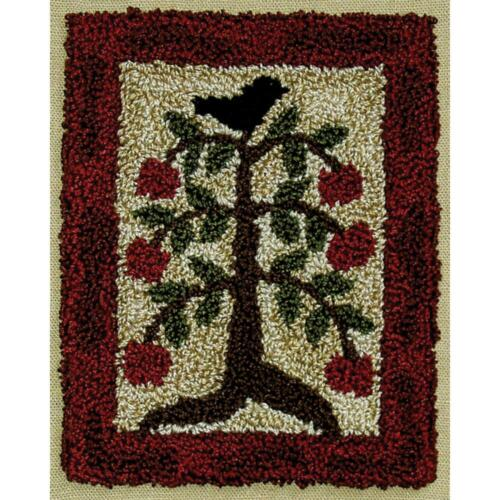 Apple Tree Punch Needle Embroidery Kit