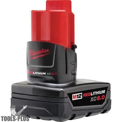 Milwaukee 48-11-2460 M12 REDLITHIUM XC 6.0 Extended Capacity Battery New