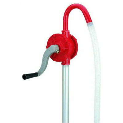 Lumax Lx-1320 Deluxe Heavy Duty Rotary Barrel Pump For 15 To 55 Gallon Drums