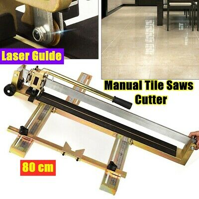 80cm Manual Tile Saws Laser Guide Cutting Machine Marble Tiles Wall Tiles Cutter