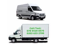 Man and Van from £15/hr, Removal Van Hire/House Move/Furniture Recycle/Office Move/Rubbish clearance