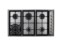 Brand New - CDA HG9320SS 6 Burner Stainless Steel Gas Hob