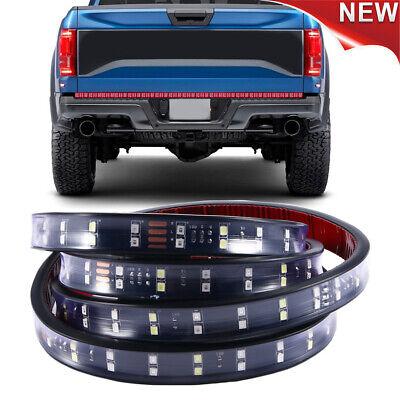 "60"" Truck Tailgate LED Light Bar Strip for Chevy Silverado 1500 2500 3500 HD"