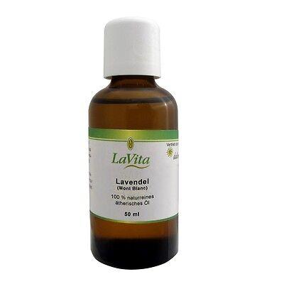 Lavita Lavendelöl (Mont Blanc) - 100 % naturreines ätherisches Öl - 50 ml
