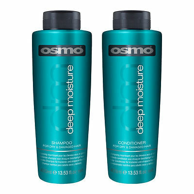 Osmo Deep Moisture Hair Shampoo & Conditioner 400ml Professional Home & Salon