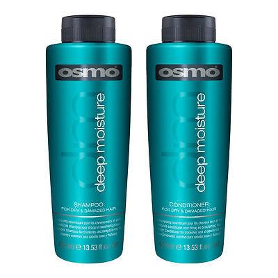 Osmo Deep Moisture HairShampoo & Conditioner 400ml Professional Home & Salon - Home Deep Hair Conditioner