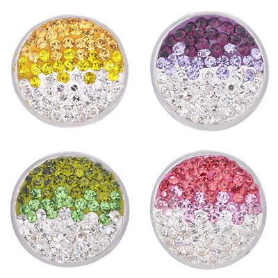 - Wholesale Ginger Snaps 18mm Snaps Button Mix Bling Metal Chunk Style Diy Jewelry