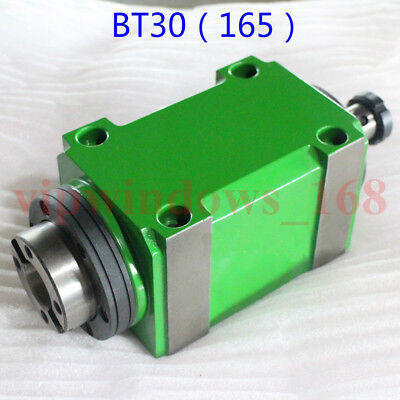Bt30 Taper Spindle Unit 724 Mechanical Power Headdrawbar For Drilling Milling