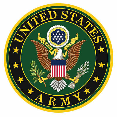 US ARMY MILITARY DECAL WALL HIGH QUALITY STICKER 3M CAR TRUCK Window Laptop ()