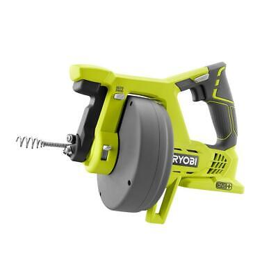 Ryobi Drain Auger Plumbing Snake Sink Clog Pipe Cleaner Cordless 18v Electric Nw