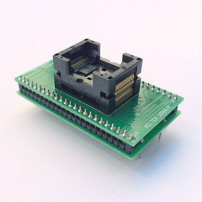 Tsop48 To Dip48 Socket Adapter 0.5mm Pitch For Sa247 Adapter Socket