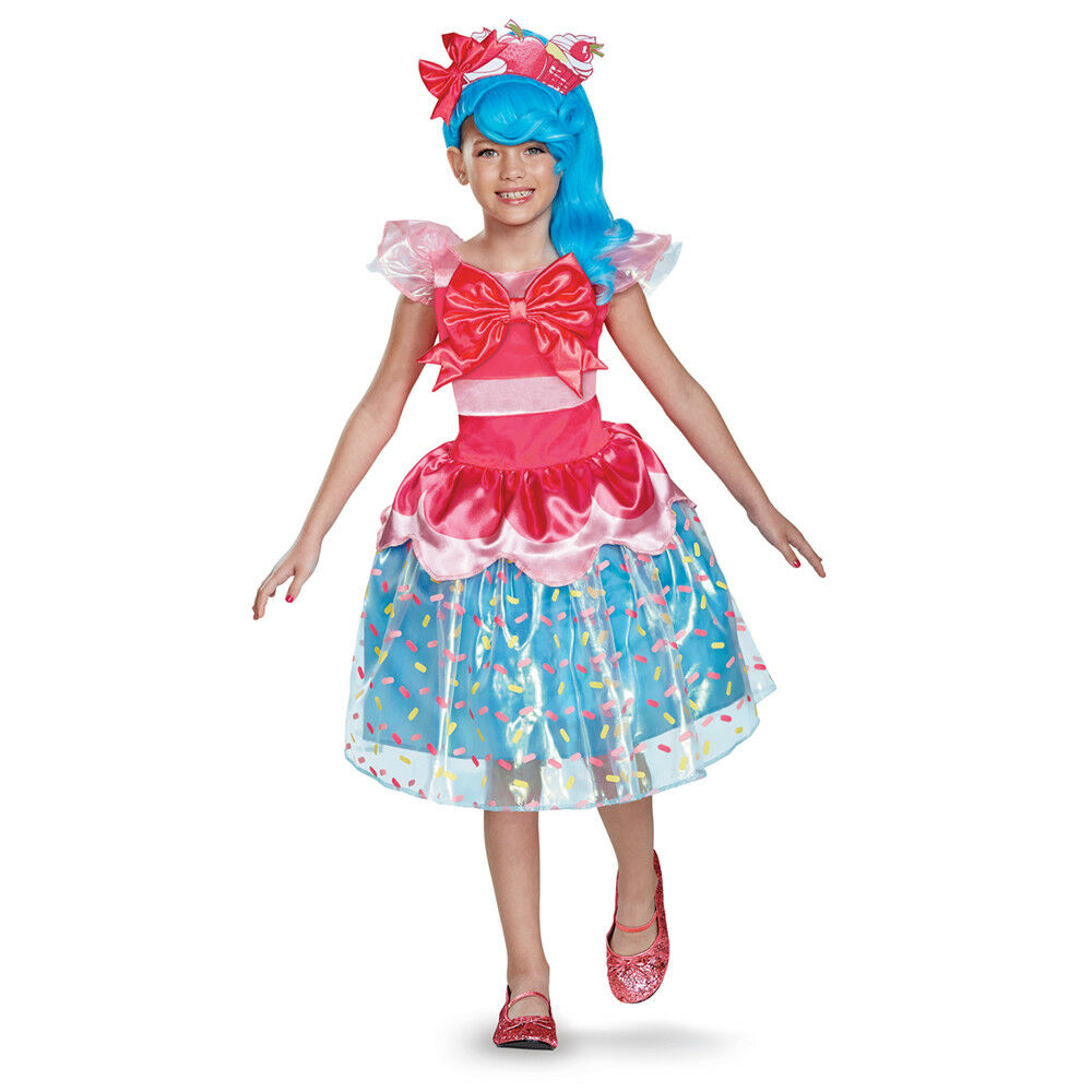 Girls Shopkins Deluxe Jessicake Halloween Costume