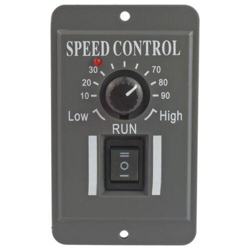 NEW 12V 24V 36V 48V PWM DC Motor Speed Controller Reversible Switch 6A Regulator