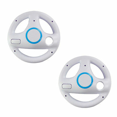 Nintendo Wii Control - 2pcs Mario Kart Racing Steering Wheel for Nintendo Wii Remote Game Controller