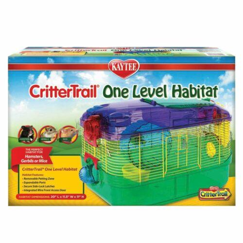 KayTee CRITTERTRAIL One Level 20 X 11.5 X 11 SMALL ANIMAL