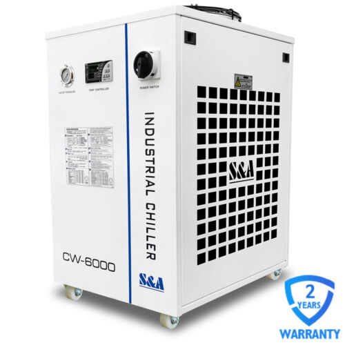 US Stock S&A AC 1P 60Hz 220V CW-6000BN Industrial Water Chiller